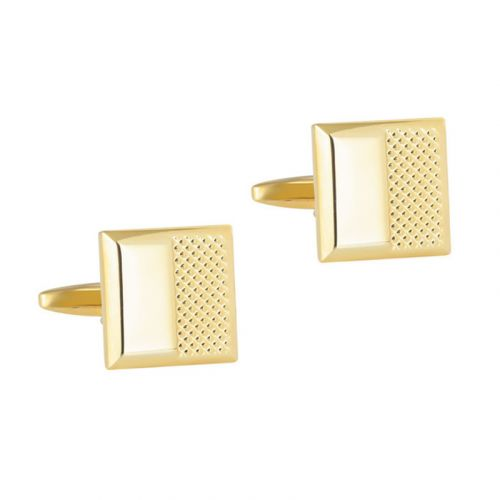 Jeulia Simple Style Copper Men's Cufflinks