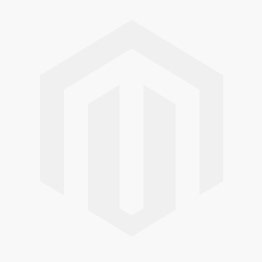 Jeulia Simple Princess Cut Sterling Silver Men's Band