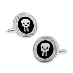 "Jeulia ""Punisher"" Vintage Copper Men's Cufflinks"