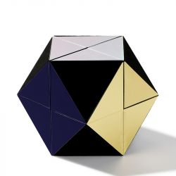 Jeulia Changeable Rubik's Cube Ring Box