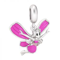 Butterfly Fairy Sterling Silver Pendant Charm