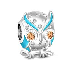Owlet Charm Sterling Silver