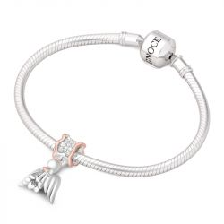 Angel Charm Sterling Silver
