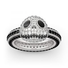 Jeulia The Nightmare Before Christmas Jack Skellington Sterling Silver Ring